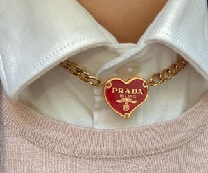 Prada, necklace, and aesthetic image