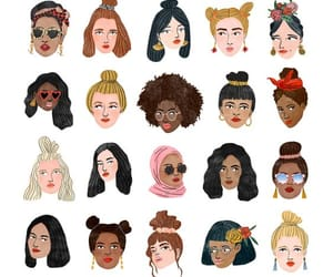 illustration, wallpaper, and women image