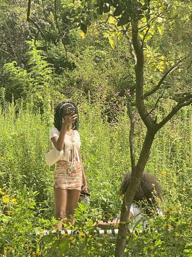 aesthetic, black girl, and brown girl image