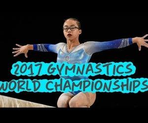gymnastics, sports, and ashton locklear image