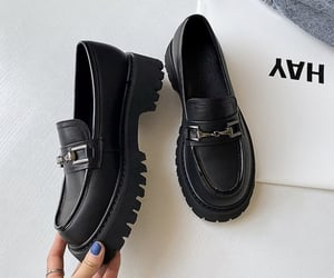 chunky shoes, fashion, and trendy image