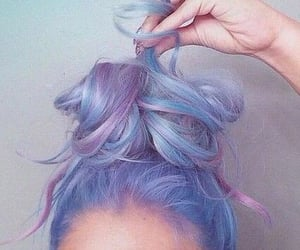 beauty, pastel hair, and pinterest image