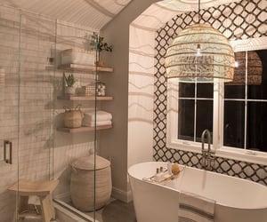 bath, dream home, and shower image