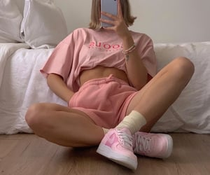 tee shirt, cute summer outfit, and outfit of the day ootd image