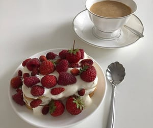 berries, delicious, and strawberry image