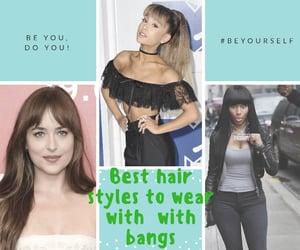 hair salon, layered hair, and ponytail hairstyles image