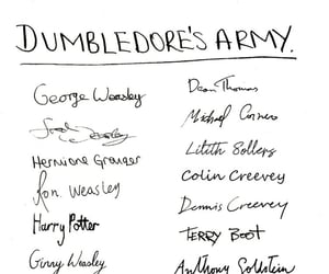 albus dumbledore, dumbledore, and dumbledore's army image