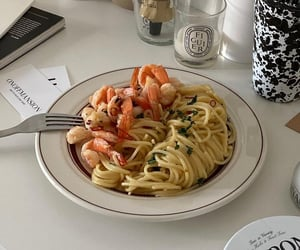 brunch, food, and pasta image