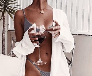 accessories, beach, and drink image