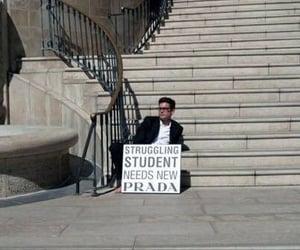 Prada, lol, and student image