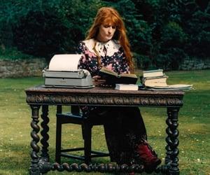 bookish, typewriter, and elle magazine image