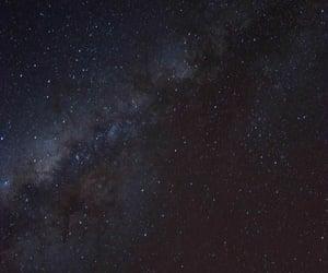 cosmos, dreaming, and galaxy image