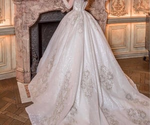 bridal, bride, and detail image