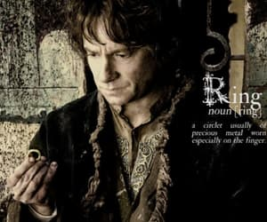 one ring, the hobbit, and tolkien image