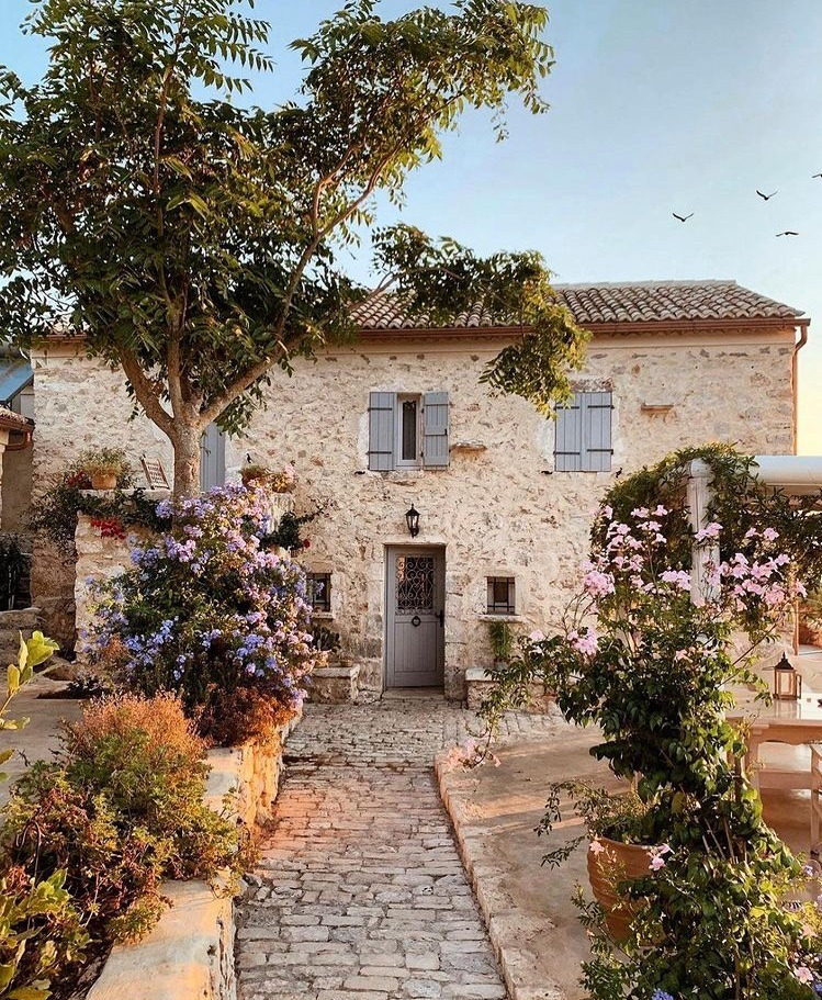flowers, decor, and italy image