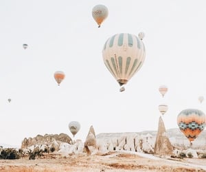 aesthetic, instagram, and hot air balloon image