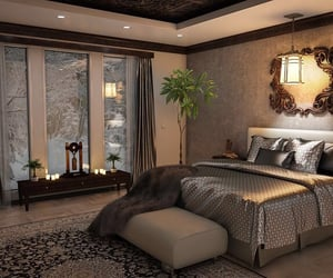 bedroom, cosy, and furniture image
