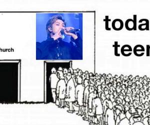 meme and kpop image