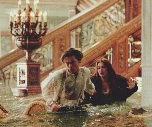 kate winslet, Leonardo di Caprio, and movie image