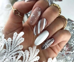 beauty, happy, and nails image