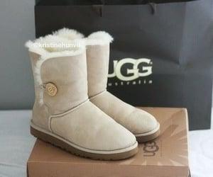 boots, tan, and ugg image