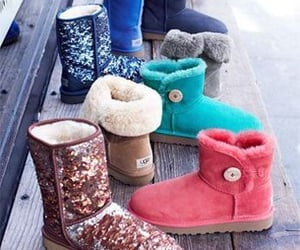 colors, ugg, and boots image