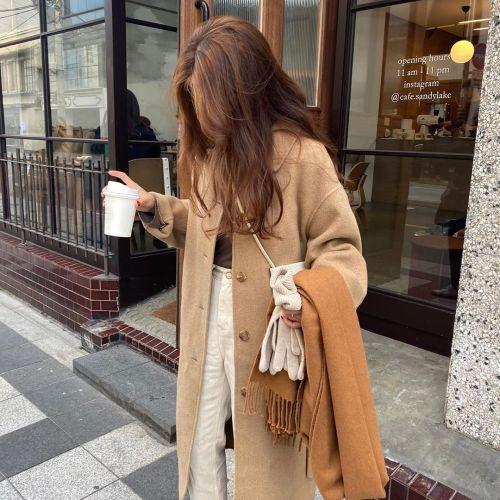 girl, coat, and fashion image