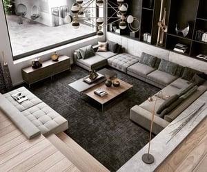 dream home, grey, and interior design image