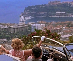 vintage, to catch a thief, and monaco image