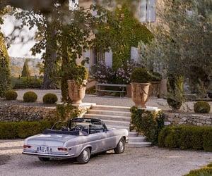 car, house, and garden image
