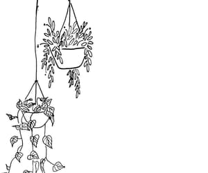 drawing, flowers, and simple image