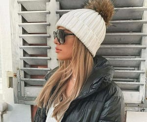 beanie, clothes, and fashion image