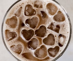 coffee, drink, and ice image
