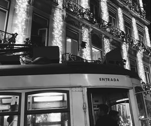 christmas, city, and lisbon image