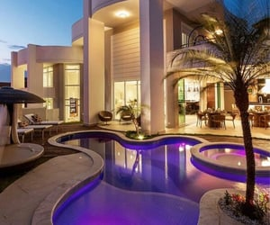 design, house, and pool image
