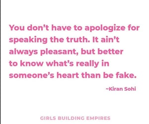 apologise, fake, and empowerment image