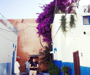 blue, morocco, and places image