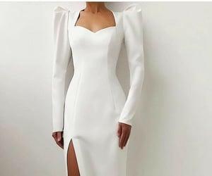 dress, fashion, and fashion models image