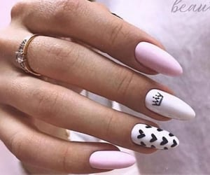 design, nails, and manicure image