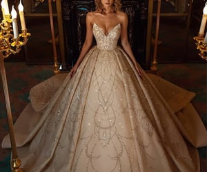 bridal, bride, and chic image
