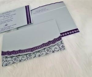 foil invitations, foil wedding invitations, and foil wedding cards image