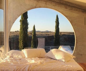 bed, aesthetic, and architecture image