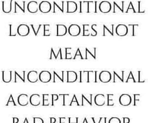 unconditional love, bad behavior, and bad means bad image