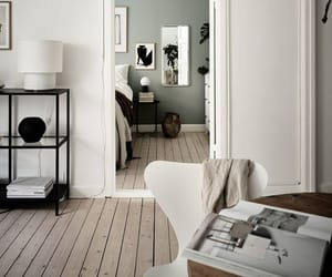 black, decor, and livingroom image