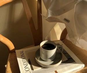 coffee, aesthetic, and magazine image