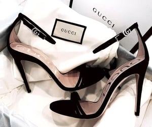 black, shoes, and rose gold image