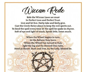 law of attraction, wicca, and wiccan image