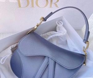 bag, blue, and dior image