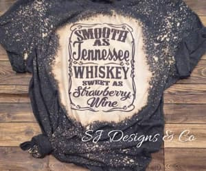 distressed, bleached shirt, and etsy image