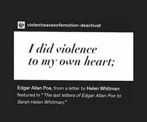 edgy, edgar allan poe, and pain image